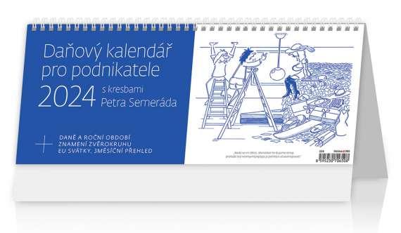 Stolní kalendář 2017 Daňový kalendář pro podnikatele