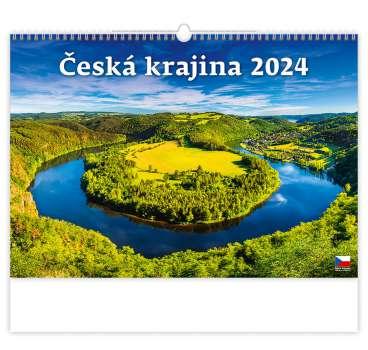 Nástěnný kalendář 2018 Česká krajina