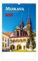Nástěnný kalendář 2018 Morava/Moravia/Mähren