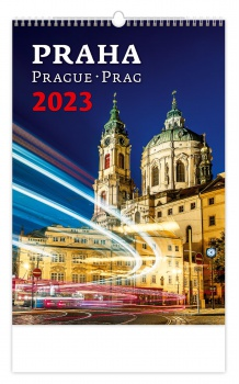Nástěnný kalendář 2017 Praha
