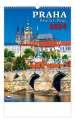 Nástěnný kalendář 2021 Praha/Prague/Prag