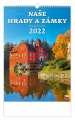 Nástěnný kalendář 2021 Naše hrady a zámky