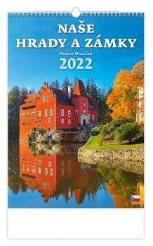 Nástěnný kalendář Naše hrady a zámky