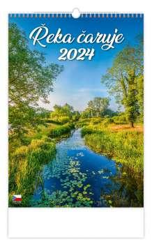 Nástěnný kalendář 2017 Řeka čaruje