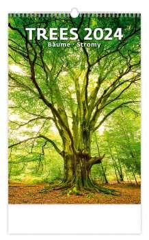 Nástěnný kalendář 2018 Stromy - Trees