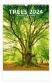 Nástěnný kalendář Stromy - Trees