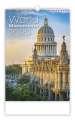 Nástěnný kalendář World Monuments