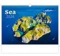 Nástěnný kalendář Sea