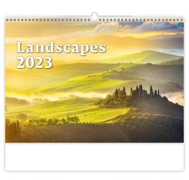 Nástěnný kalendář 2018 Landscapes