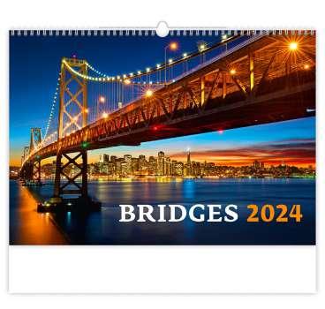 Nástěnný kalendář 2018 Bridges
