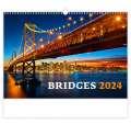 Nástěnný kalendář 2022 Bridges