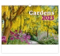 Nástěnný kalendář 2017 Gardens