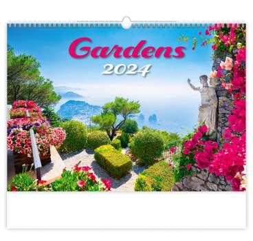 Nástěnný kalendář 2018 Gardens