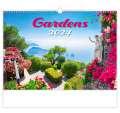 Nástěnný kalendář Gardens