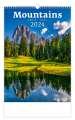 Nástěnný kalendář 2017 Hory - Mountains
