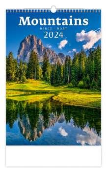Nástěnný kalendář 2022 Hory