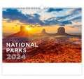 Nástěnný kalendář 2017 National Parks