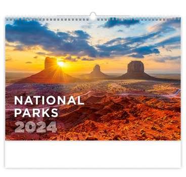Nástěnný kalendář 2018 National Parks