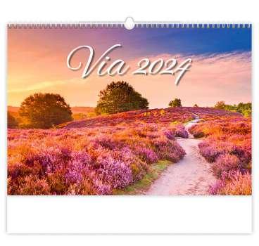 Nástěnný kalendář 2018 Via