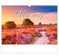 Nástěnný kalendář 2021 Via