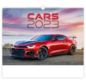 Nástěnný kalendář 2017 Cars
