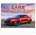 Nástěnný kalendář Cars