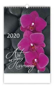 Nástěnný kalendář 2017 Art of Harmony