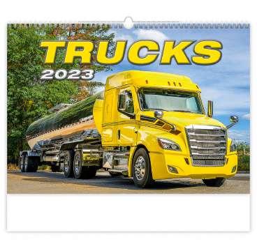 Nástěnný kalendář 2018 Trucks