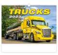 Nástěnný kalendář Trucks