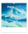 Nástěnný kalendář 2021 Aqua