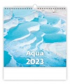 Nástěnný kalendář Aqua