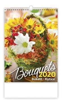 Nástěnný kalendář 2018 Kytice - Bouquets