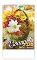 Nástěnný kalendář 2020 - Bouguets/Bukett/Kytice