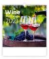 Nástěnný kalendář 2020 - Wine