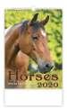 Nástěnný kalendář 2020 - Horses/Pferde/Koně/Kone