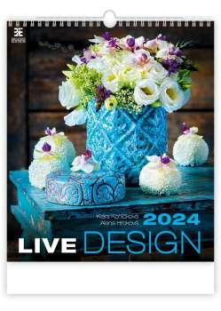 Nástěnný kalendář 2017 Live Design