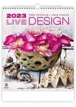 Nástěnný kalendář 2018 Live Design