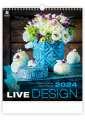 Nástěnný kalendář 2022 Live Design