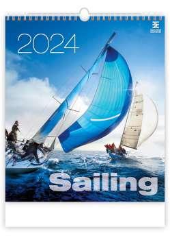 Nástěnný kalendář 2017 Sailing