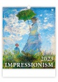 Nástěnný kalendář 2017 Impressionism