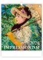 Nástěnný kalendář  Impressionism
