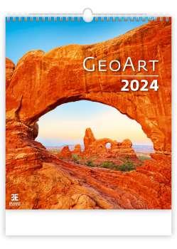 Nástěnný kalendář 2017 Geo Art