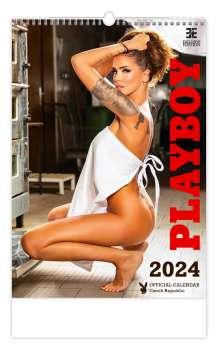 Nástěnný kalendář 2018 Playboy