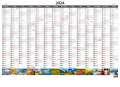 Plánovací roční mapa 2021 - A1, obrázková