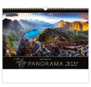Nástěnný kalendář 2018 Tatry Panorama