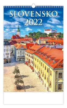 Nástěnný kalendář 2017 Slovensko