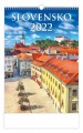 Nástěnný kalendář 2022 Slovensko