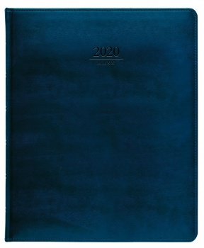 Diář prezident 2017 Atlas - modrý