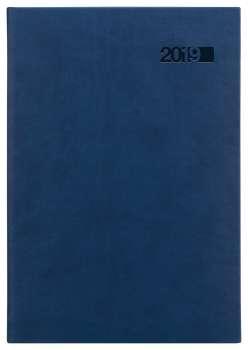 Týdenní diář 2017 Triton A5 - modrý