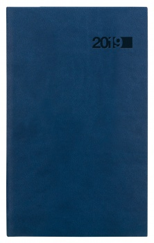 Týdenní kapesní diář 2017 Triton - modrý